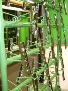 Produktion Galvano Transport und Lackier- Gestelle